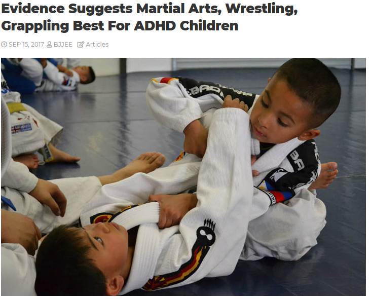BJJ is Great for Kids!